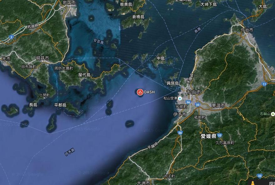 DASH島   Google マップ