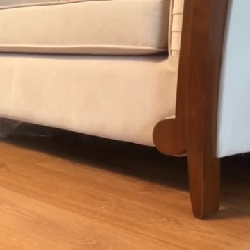 01-ソファの下に子猫が・・・呼んでみると予想外の姿で登場!