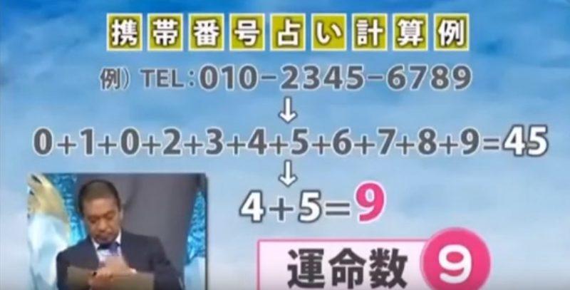 番号 占い 携帯