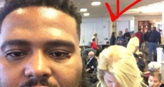 ファーストクラスの搭乗口で白人女性から差別を受けた黒人男性の対応に賞賛の声
