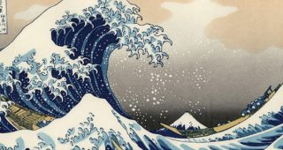 1/8000秒のシャッター速度で波を撮影したら葛飾北斎がそこに・・・