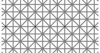 「認識できない点」が描写された『消失錯視画像』が話題に 点が無い・・・