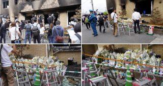 京アニの件、献花に訪れたらマスコミの酷さに愕然とした。ロンブー田村淳さんもマスコミの行動に嘆願